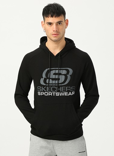 Skechers Sweatshirt Siyah